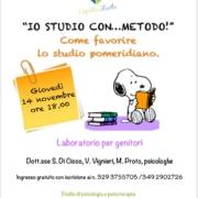 """IMG 20191103 WA0017 180x180 - """"Come favorire lo studio pomeridiano"""". Incontro per genitori"""