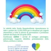 RIPRESA ATTIVITADEF 180x180 - Ripresa attività studio EmpaticaMente